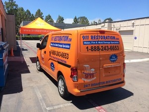 911 Restoration Birmingham Restoration Truck