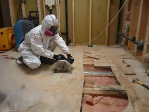 Floor Removal and Restoration Work