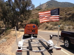 911 Restoration Birmingham Restoration Truck With American Flag