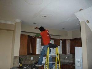 Ceiling Leak Restoration