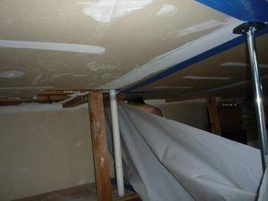 Soaked Drywall Restoration