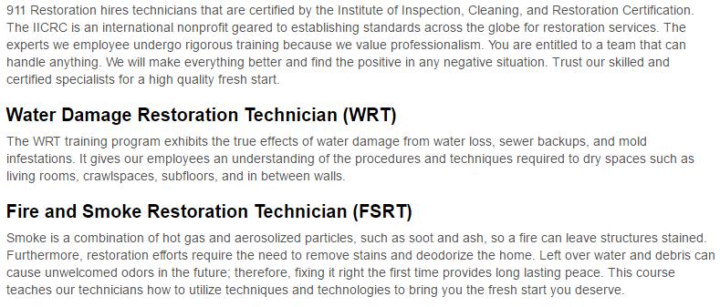 911 Restoration of Birmingham Certificates Page