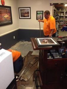 Restoration Crew at Job Site